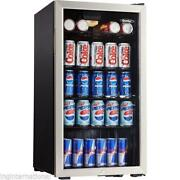 Stainless Steel Small Refrigerator