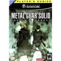 Gamecube metal gear solid twin snakes