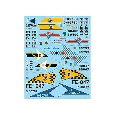 fündekals 1/48 F-106 Delta Dart Part 1 Decal Set, used for sale  Churubusco