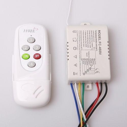 wireless remote light switch ebay. Black Bedroom Furniture Sets. Home Design Ideas