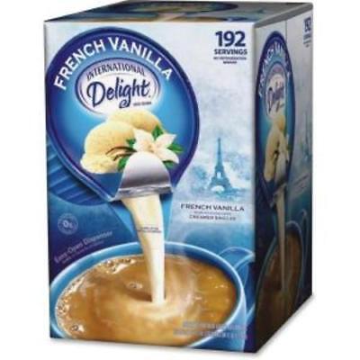 Creamer French Vanilla Flavor - International Delight French Vanilla Creamer Singles - French Vanilla Flavor -