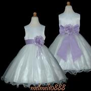 Lilac Flower Girl Dresses