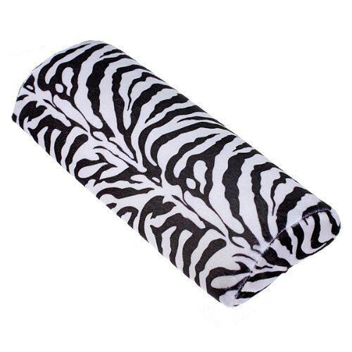 Zebra Stripe Hand Rest Cushion Pillow Nail Art Design Manicure Half Column B9L6