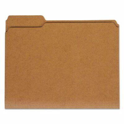 Universal Kraft File Folders 13 Cut Tab Letter Brown 100box Unv16133