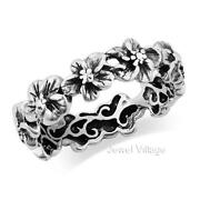 Sterling Silver Hawaiian Ring