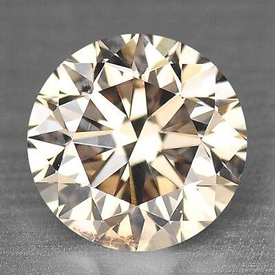 0 55 Cts Sparkling Pinkish Brown Color Natural Loose Diamonds