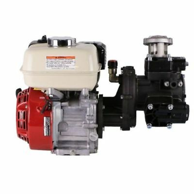 Comet APS41P Diaphragm Pump & Honda GX160QXE Electric Start Gas Engine Assembly