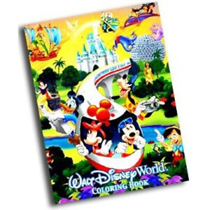 Brand New Walt Disney World Coloring Book - Walt Disney World Exclusive