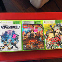XBOX360 GAME/EPIC MICKEY/LEGO LORD OF THE RINGS/ARNA4
