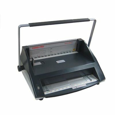 New Tamerica V2000-pro Hot Knife Velobind Style Binding Machine - Free Shipping