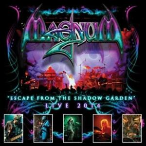 Magnum - Escape From The Shadow Garden-Live 2014     - CD NEUWARE