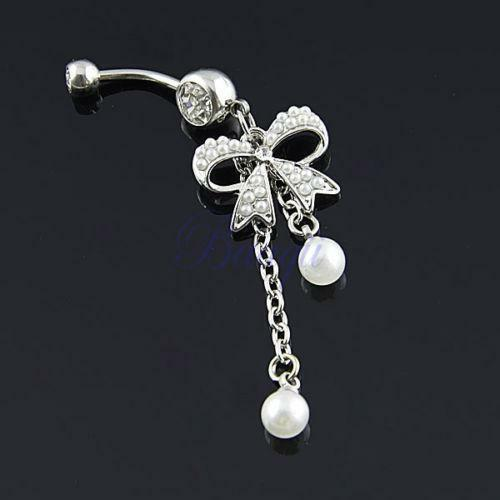 Cute Bow Belly Button Rings