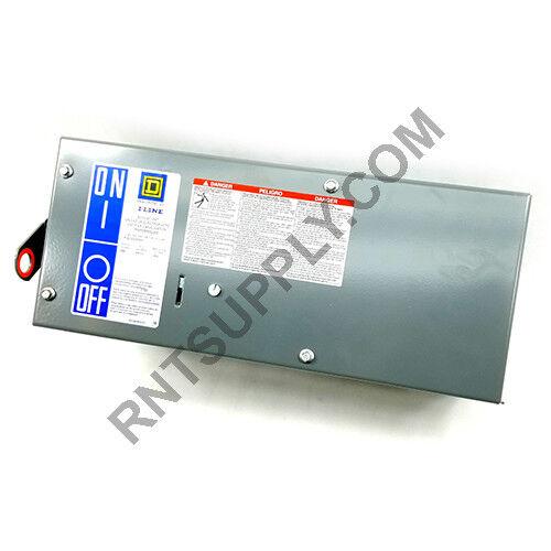 Square D Phg36030g Bus Plug 30a 600vac 3p3w Circuit Breaker I-line