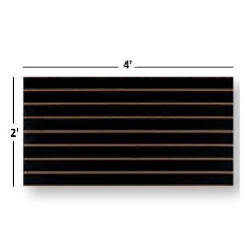 Slatwall Easy Panels, Set of 2 PIECES, 2