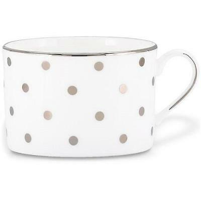 LENOX KATE SPADE  Larabee Road PLATINUM Dot  Single Cup Teacup Can cup NEW