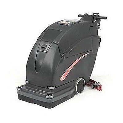 Auto Floor Scrubber - Cleaning Width 20 - Two 215 Amp Batteries - Commercial