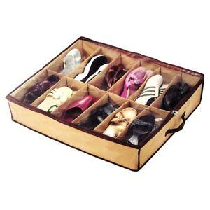 Portascarpe salvaspazio porta scarpe organizzer scarpiera 12 posti ebay - Portascarpe salvaspazio ...
