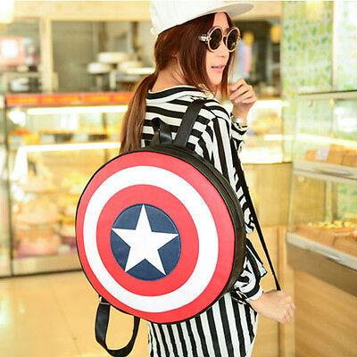 Marvel The Avengers Captain America Backpack Shoulder Bag Cosplay Toy Gift Girl - Captain America Purse