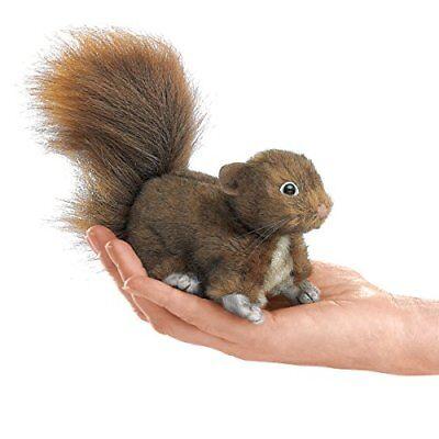 Mini Red Squirrel (Folkmanis Mini Red Squirrel Finger Puppet )
