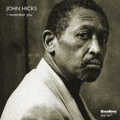 I Remember You Hicks John (Us Import) Cd New