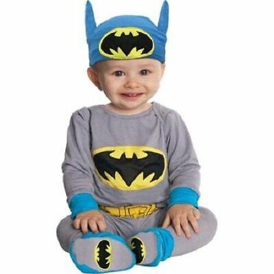 BATMAN Halloween costume newborn boys infant baby 0-6  6-12 12-18  month bat man