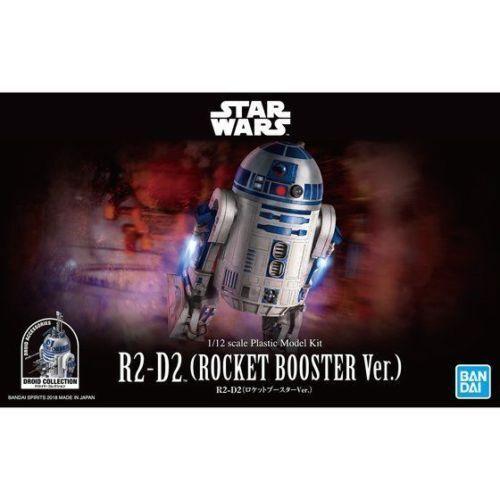 BANDAI Star Wars R2-D2 (R2D2) Rocket Booster Ver. 1/12 scale kit JAPAN OFFICIAL