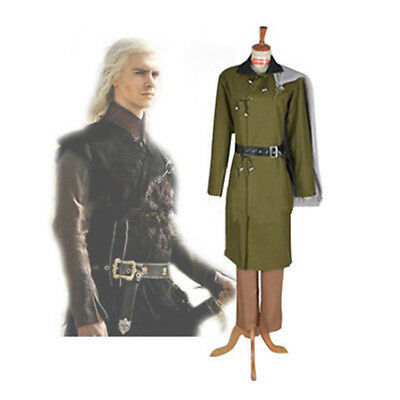 Game of Thrones Cosplay Viserys Costume Adult Mens Halloween Carnival Costume :G - Adult Carnival Games