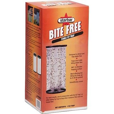 Bite Free Stable Fly Trap (Farnam Home and Garden 3005363 Starbar Bite Free Stable Fly Trap Standard )