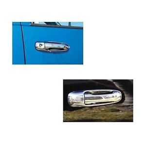TFP Chrome Stainless Steel Door Handle Inserts for Ram 1500