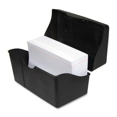 Advantus Corp. Index Card Holders 4x6 Black Case Pack 7