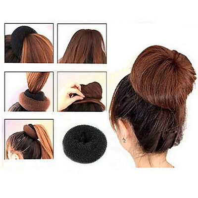 Купити HAIR BUN SPONGE DONUT WITH PONY TAIL AND BOBBY PINS INCLUDED в Україні