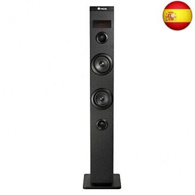 NGS SKYCHARM - Altavoz Torre de Sonido con Bluetooth y Entrada óptica....