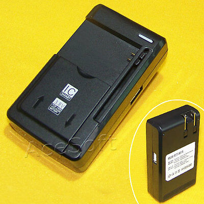 Home Desktop Charger (Universal Desktop Travel Home Battery Charger For Alcatel GO FLIP 4044W)