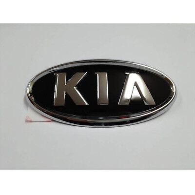86320 3E032 Rear Trunk KIA Logo Emblem For 2006 2010 Kia Rio Pride