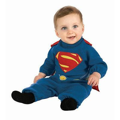 NEW TODDLER KIDS RUBIES SUPERMAN HALLOWEEN COSTUME SIZE 2-4 1-2 YEARS OLD ROMPER](4 Year Old Halloween Costume)