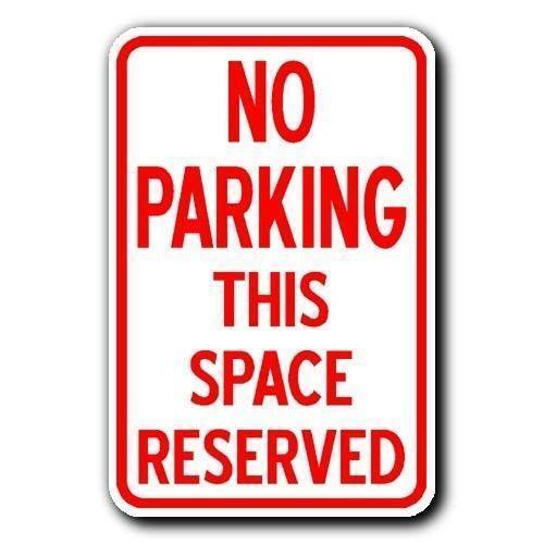 No Parking Metal Sign Ebay