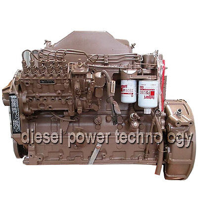 Komatsu 8.3 Remanufactured Diesel Engine Extended Long Block