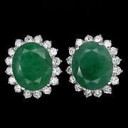 Zambian Emerald Earrings