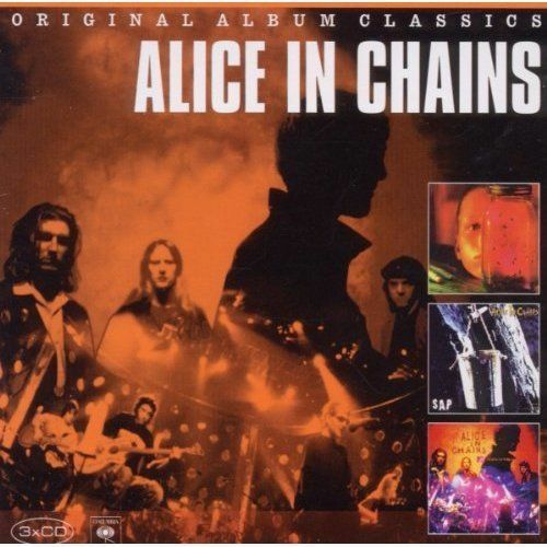 ALICE IN CHAINS Original Album Classics 3CD NEW Jar Of Flies/Sap/MTV Unplugged