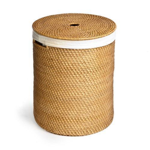 Wicker laundry basket ebay - Rattan laundry hamper ...