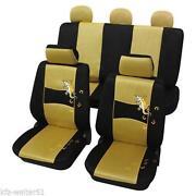 Sitzbezüge Gelb