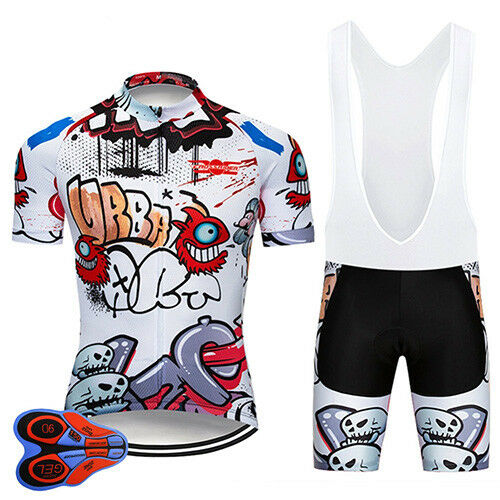 Funny Cycling Clothing Sets Retro Road Clothing MTB Short Sleeve Racing DIY (New with tags - 29 USD)