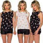 Flamingo Polyester Blouses for Women
