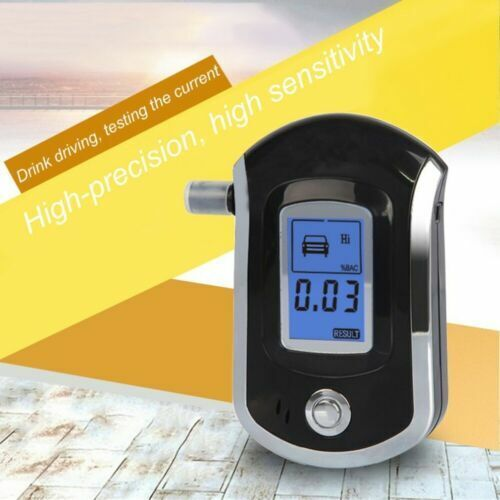 Portable Digital LCD Breath Alcohol Tester Breathalyzer Analyzer Police Detector