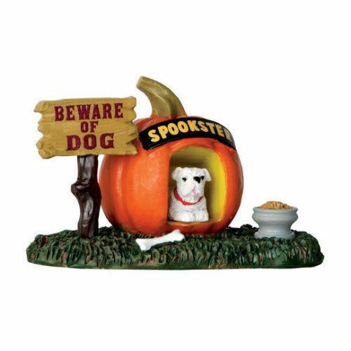 Lemax Spooky Town - Pumpkin Doghouse - Halloween # 64053