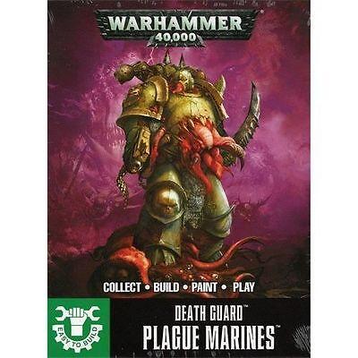 Warhammer 40K: Death Guard Plague Marines (Easy To Build) GWS 43-30