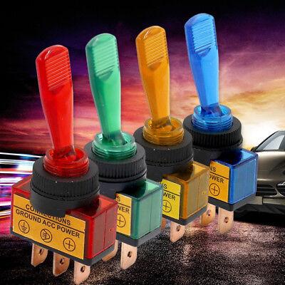 Design Beleuchtet Ein/Aus Schalter Wippschalter Kippschalter Auto Boot 12V 20A
