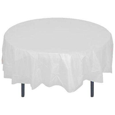 Mountclear Disposable/Reusable Plastic Tablecloths 84