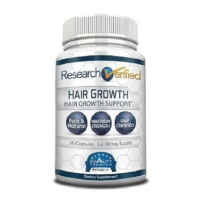 (Research Verified Hair Growth - Natural Hair Loss Treatment (1 Bottle))