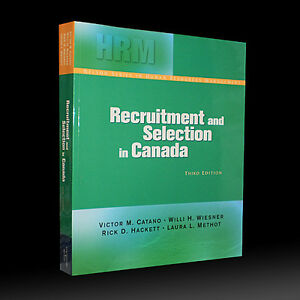 RECRUITMENT AND SELECTION IN CANADA 3/e NELSON HRM